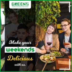 greens traditional indian and thai cuisine